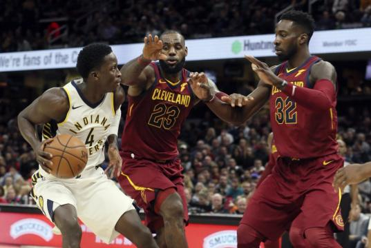 BASKET : Cleveland Cavaliers vs Indiana Pacers – NBA – 01/11/2017 | - beinsports.com