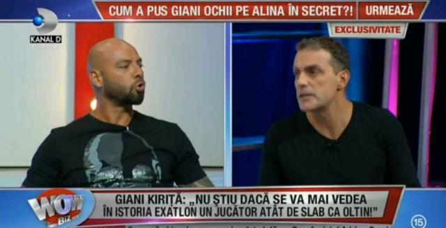 Giani Kiriță, discuție incendiară cu Oltin Hurezeanu: