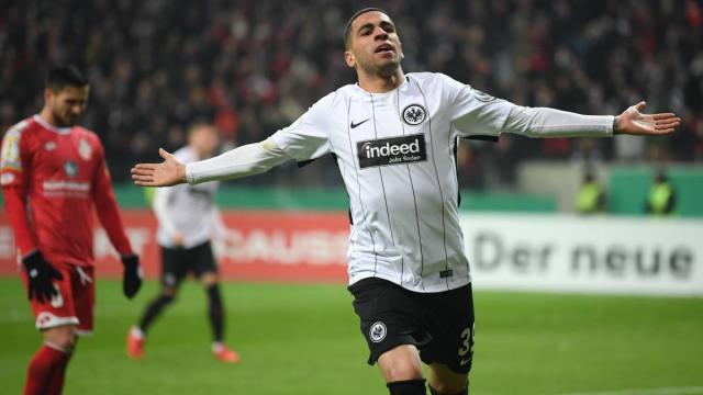 El jugador del Eintracht Frankfurt, Omar Mascarell