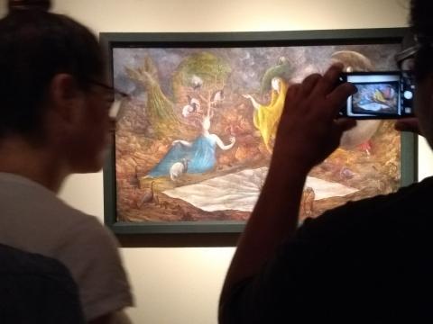 El Museo de Arte Moderno hace gala de la colección más completa de Carrington.