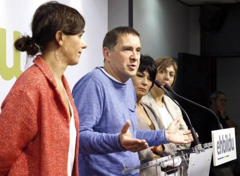 """Elecciones vascas 2016: Otegi ofrece al PNV liderar """"un acuerdo de ... - elpais.com"""