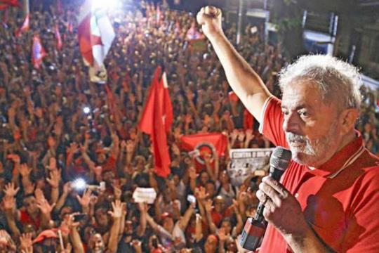 Lula lidera todos os cenários de 1º turno para 2018, diz pesquisa ... - com.br