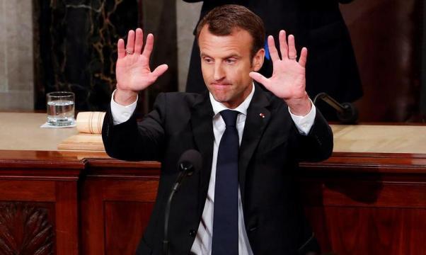 Macron cree que Trump romperá el acuerdo nuclear con Irán • El ... - com.ni