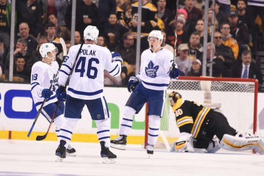 Kapanen anotó el 4-3 para los Leafs en un breakaway espectacular. NHL.com.