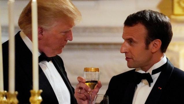 Macron aux Etats-Unis: la rude journée du président français ... - rfi.fr