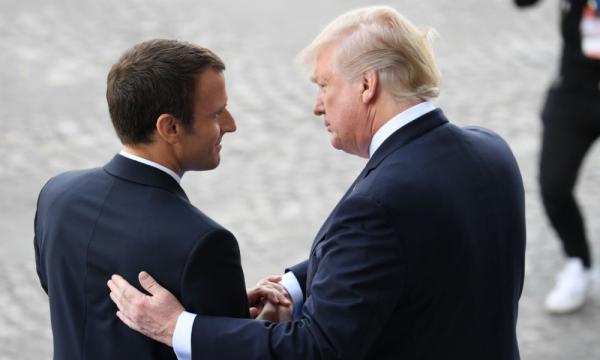 Visite d'Etat de Macron aux États-Unis: Trump sort le grand jeu - bfmtv.com