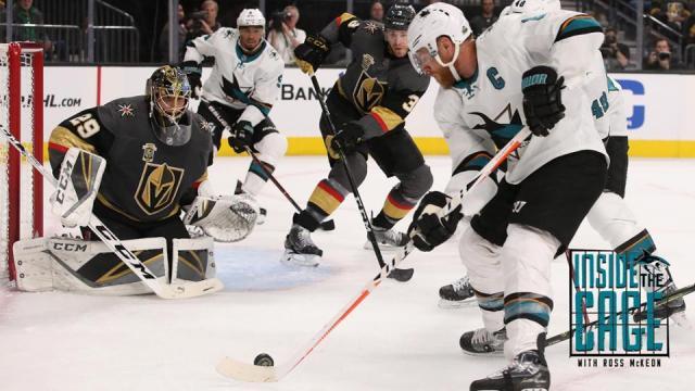 Pavelski fue el catalizador de los Sharks en el Juego 2. NHL.com.