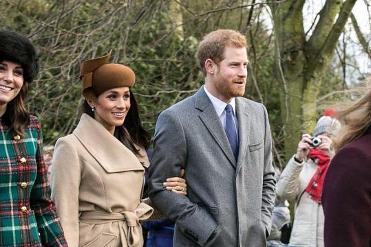 Prince Harry and Meghan Markle (Image credit - Mark Jones, Wikimedia Commons)