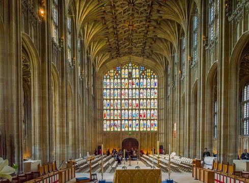 St George's Chapel, Windsor Castle (Image credit – Jack Pease, Wikimedia Commons)