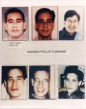 Andrew Cunanan, el asesino de Versace (FBI)