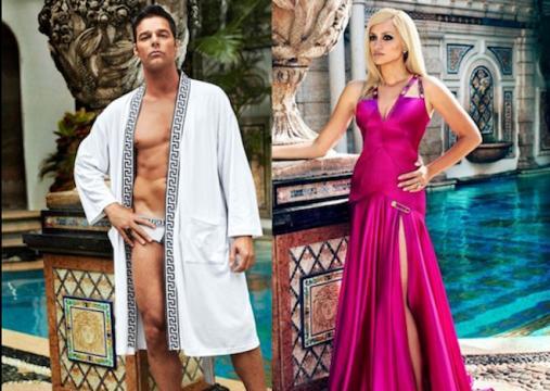 Penelope Cruz y Ricky Martin son Antonio D'Amico y Donatella Versace en la serie de Ryan Murphy (FxNetwork)