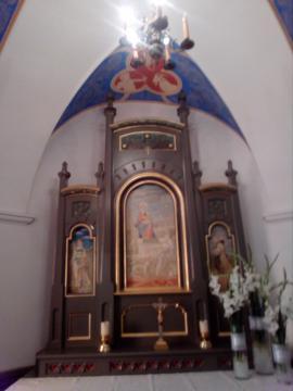 Ołtarz w kaplicy zamkowej (fot. Krzysztof Krzak)