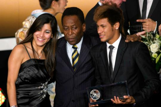 Pelé descend encore Neymar - Football - Sports.fr - sports.fr