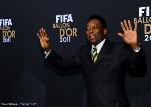 Pelé parle de la comparaison de Neymar avec Ronaldo et Messi