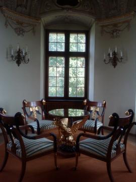 Wnętrza zamku w Baranowie Sandomierskim (fot. Krzysztof Krzak)
