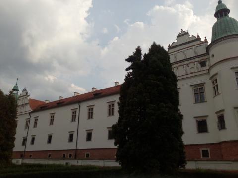 Zamek w Baranowie Sandomierskim od strony parku (fot. Krzysztof Krzak)