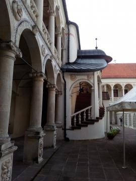 Zamkowe krużganki w Baranowie Sandomierskim (fot. Krzysztof Krzak)