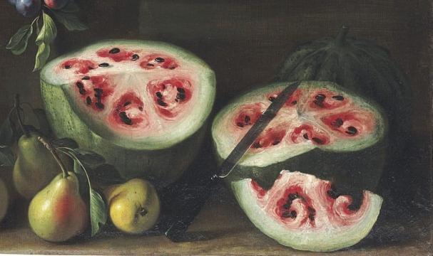 A melancia é um dos alimentos que sofreram modificações humanas