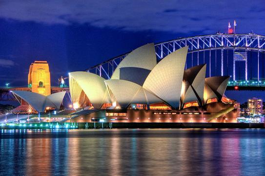 Sydney Opera House Close up HDR Sydney Australia (Image credit – Hai Linh Truong, Wikimedia Commons)