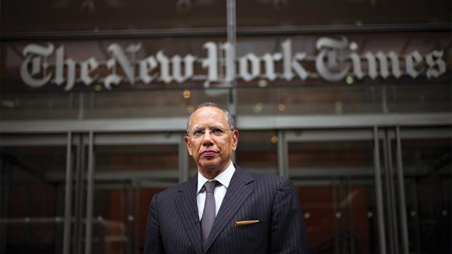 Dean Baquet, editor del New York Times, sobre cobertura electoral, Trump ... - variety.com