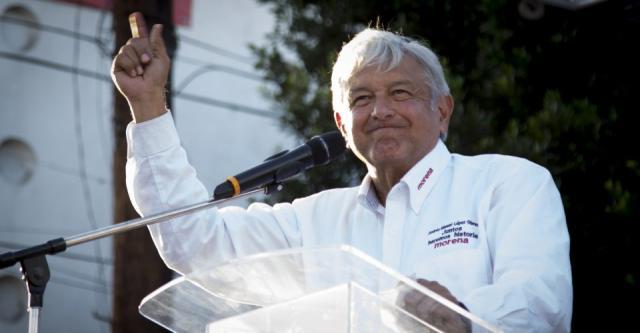 Afirma AMLO que tras debate rebasa 50% de intención de voto ... - com.mx
