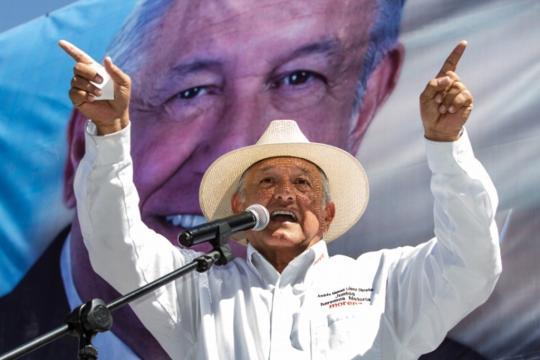Asegura AMLO que subió a 50% de intención del voto luego del ... - com.mx