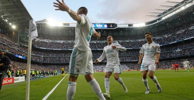 Benzema tuvo su mejor partido de temporada con dos goles. MARCA.com.