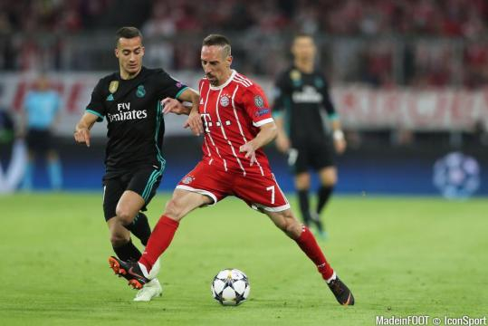 Foot - Franck Ribery and Lucas Vazquez during the Champions League ... - madeinfoot.com