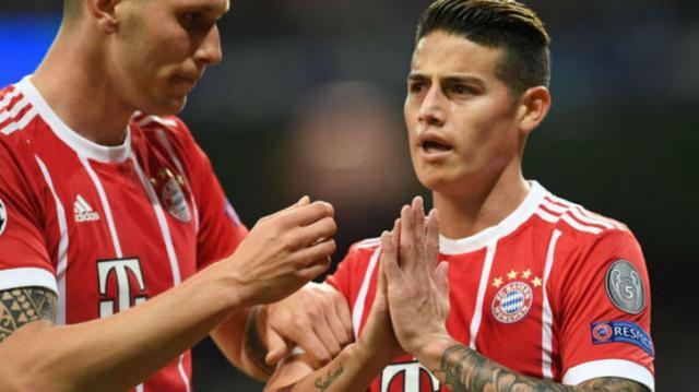 James marcó el 2-2 que puso los pelos de punta al Bernabéu. MARCA.com.
