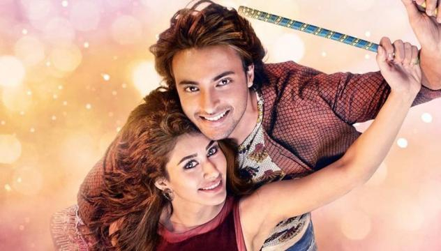 Loveratri poster: Salman Khan's Valentine's Day gift is Aayush ... - hindustantimes.com