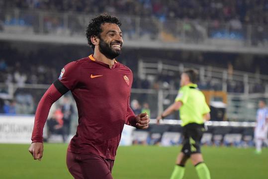 Mohamed Salah ai tempi della Roma.