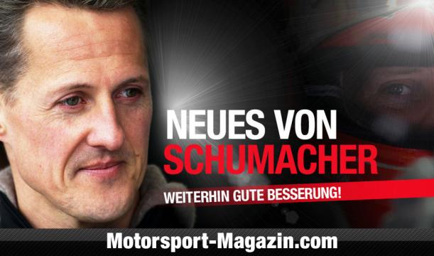 Keep Fighting! News-Ticker zu Michael Schumacher - motorsport-magazin.com