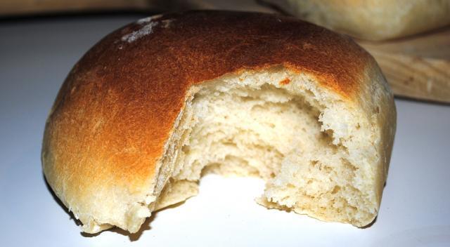 L'interno del panino, soffice come una nuvola