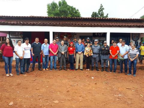 Distrito policial do povoado Faísa foi inaugurado em março de 2018 (Foto;Divulgação)