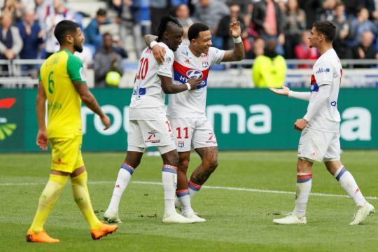 Ligue 1 : L'OL s'impose contre Nantes