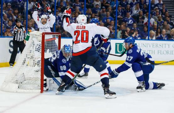 Eller tuvo un gol clave en el partido 2. NHL.com.