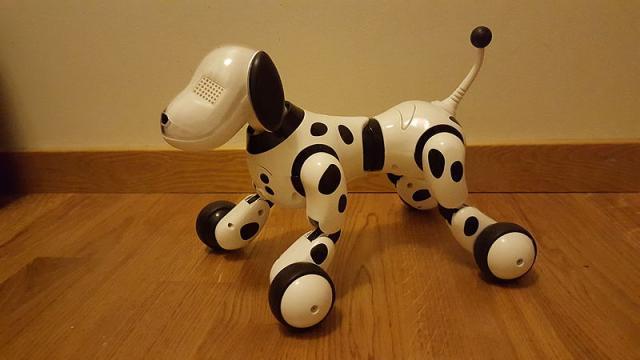 Robotic dog zoomer (Image credit – RefDr, Wikimedia Commons)