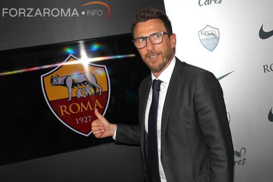 Roma, Di Francesco si presenta nella capitale