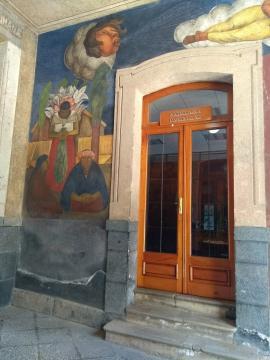 Diego Rivera dio vuelo a su visión evolucionista en los murales que realizó en los 20´s.