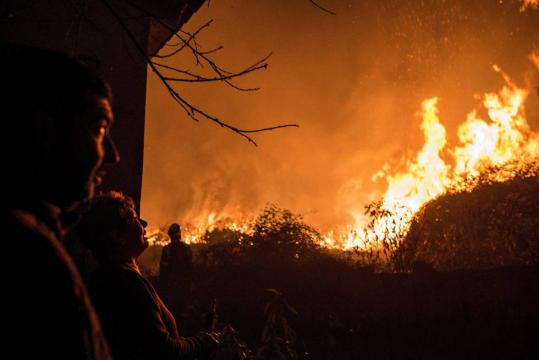 Galicia sufrió en 2017 una devastadora oleada de incendios. | EL PAÍS - elpais.com