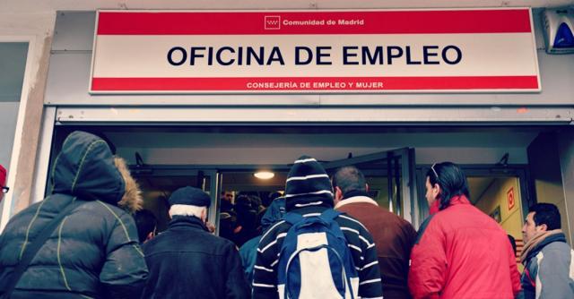 Las tasas de paro en nuestro país van en aumento.- oficinaempleo.com