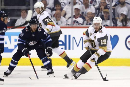 Vegas atascó a la potente ofensiva de Winnipeg. NHL.com.