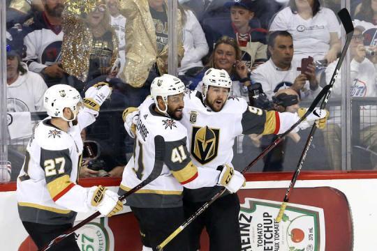 Vegas está a 3 victorias de llegar a la Final de la Copa Stanley. NHL.com.