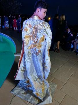 Kimono Couture pour la soirée privée
