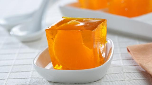 Receta de Gelatina de naranja con mandarinas • Gurmé - abc.es