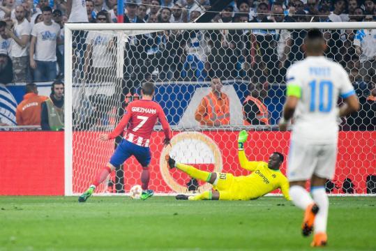 Football Europa League - EL : L'Atlético Madrid et Griezmann trop ... - foot01.com