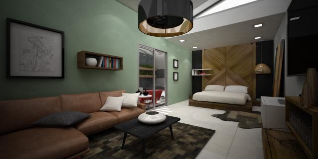 Habitación Principal o Master Bedroom