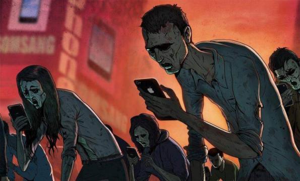 La vida sin celulares es inconcebible actualmente (foto: blog.wolfmillionaire.com)
