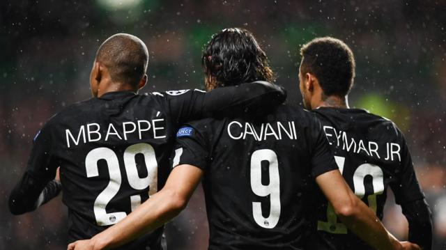 Le PSG s'impose très largement à Glasgow (0-5) - Ligue des ... - eurosport.fr