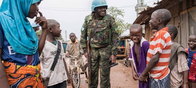 Message de la République centrafricaine à l'ONU : « La seule chose ... - un.org